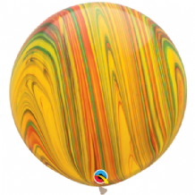 Giant SuperAgate Balloons - Traditional (30 Inch) 2pcs